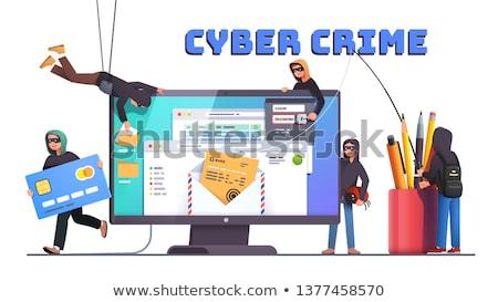 Cybercrime Stock photo © paulfleet
