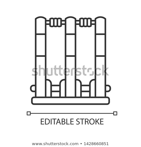 Bails Icon Vector Outline Illustration Stock photo © pikepicture