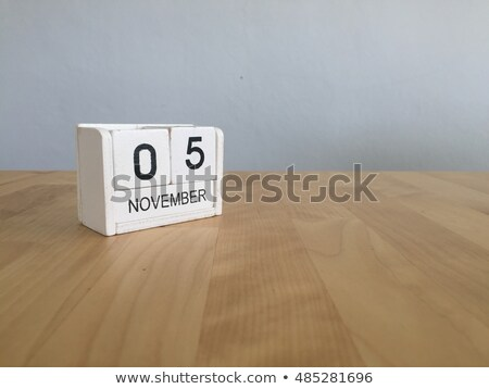 Stock photo: Cubes 5th November