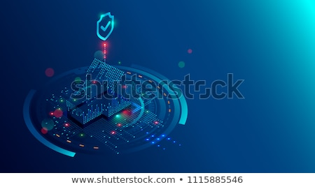 Security systems design concept vector illustration Stock photo © RAStudio