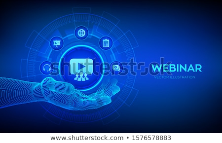 Virtual sales concept vector illustration. Stock photo © RAStudio