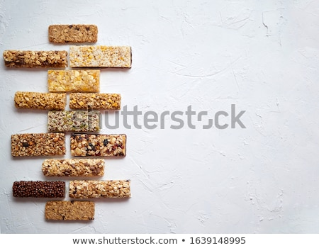 Gezonde ruw dessert snack fitness dieet- Stockfoto © dash