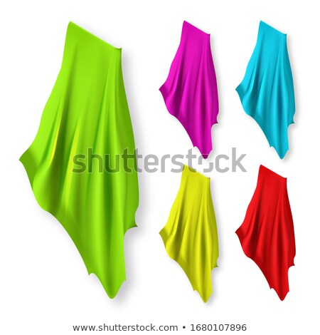 Textiles servilleta toallas diferente color establecer Foto stock © pikepicture