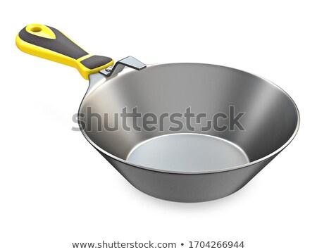 Kamieniarstwo narzędzie metal gipsu pan 3D Zdjęcia stock © djmilic