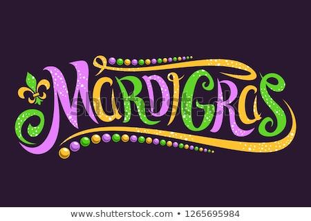 Mardi Gras! Vector Graphic Stock photo © damonshuck