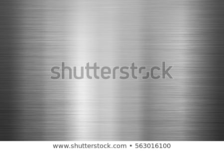Metaal textuur abstract vector naadloos titanium patroon Stockfoto © Hermione