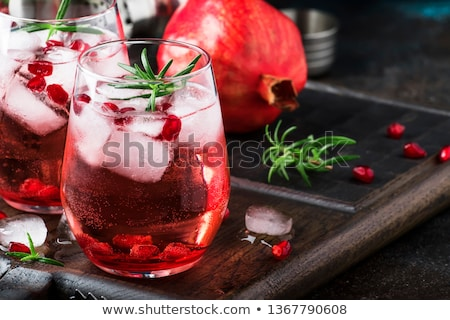 red cocktail Stock photo © oblachko