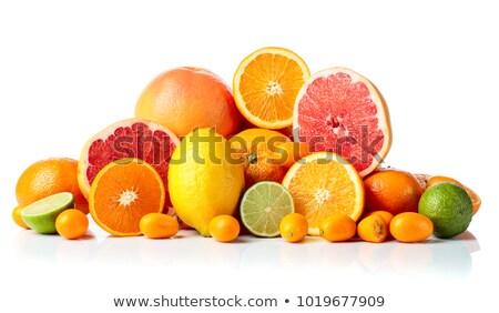 Pile of citrus fruit Stock photo © Balefire9