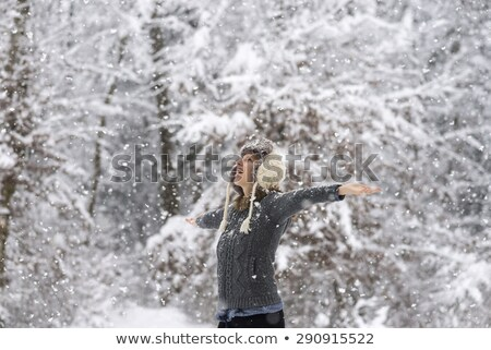 Vivacious Winter Beauty Stock photo © stryjek