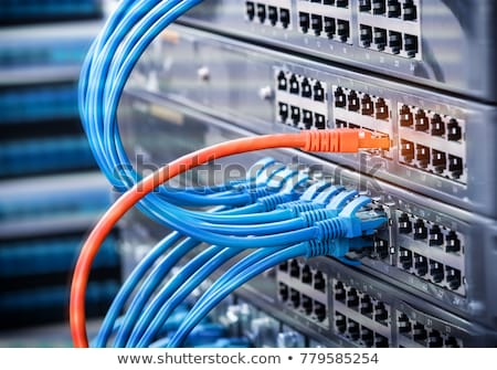 Stock photo: Computer wire.