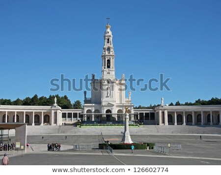 sanctuary of our lady of fatima fatima estremadura portugal stock photo © phbcz