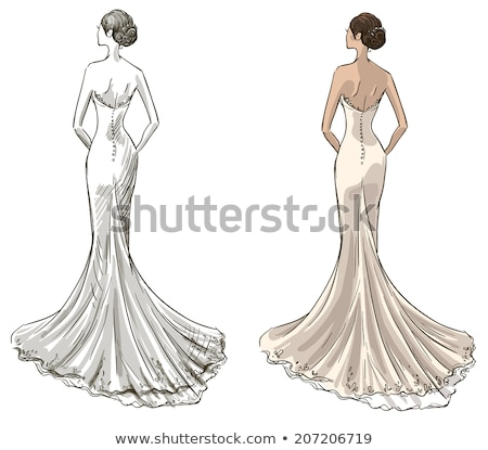 bride in withe wedding dress stock photo © nyul