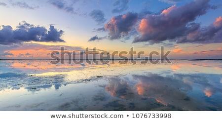 Azul luz do sol brilhante luz solar centro Foto stock © nikdoorg