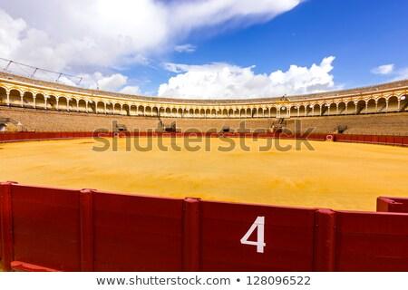 aréna · Spanyolország · város · sport · utazás · homok - stock fotó © aladin66