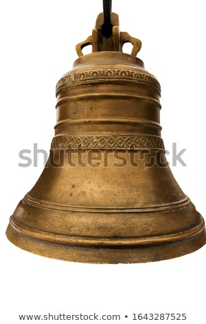 bell in white temple stock photo © timbrk