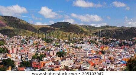świat dziedzictwo Meksyk 19 historyczny Zdjęcia stock © emattil
