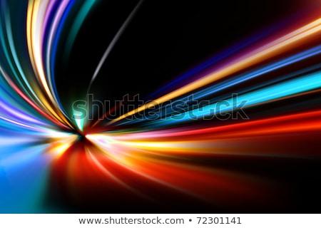 abstrato · noite · aceleração · acelerar · movimento · carro - foto stock © redpixel