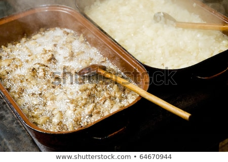 traditional pig-sticking (lard), Czech Republic Stock photo © phbcz