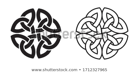 Abstract Celtic Knot Stock photo © ankarb