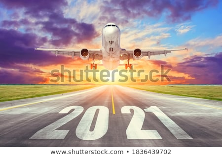 big passenger airplane in airport stock photo © ssuaphoto