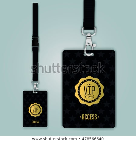 VIP badge stock photo © SVitekD