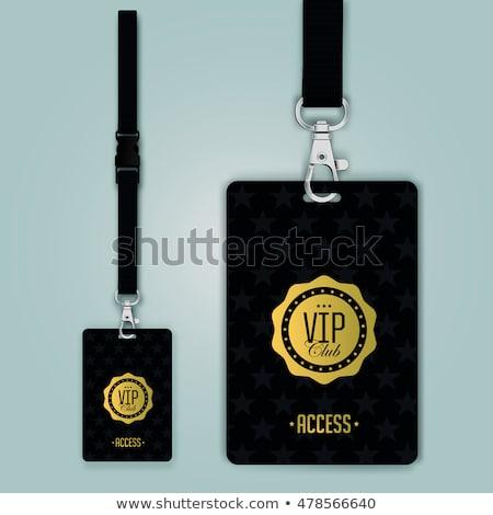 VIP badge Stock photo © SVitekD