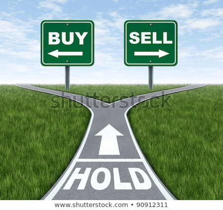 Buy and sell decision dilemma crossroads Stock photo © Lightsource