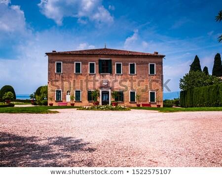 итальянский · балкона · цветы · дома · стены · домой - Сток-фото © leeser