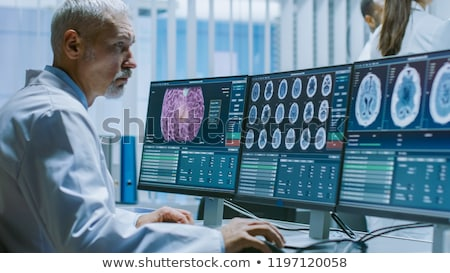 Human brain research Stock photo © Lightsource