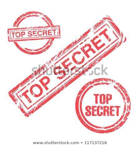 Interdit blanche lock danger juridiques Photo stock © chrisdorney