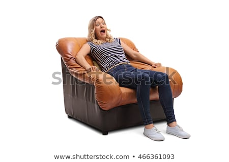 woman terrified screams stock photo © stokkete