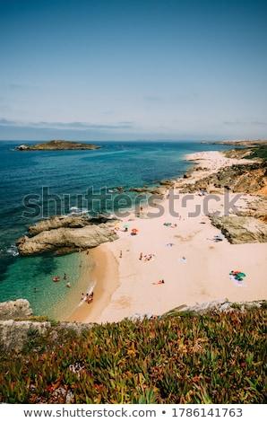 Kövek tenger tengerpart Portugália égbolt víz Stock fotó © inaquim
