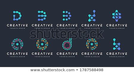 Assinar átomo química sinais eletricidade botão Foto stock © Ustofre9