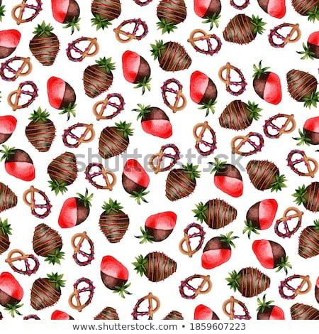 Chocolate Covered Strawberries stock photo © sonofpromise