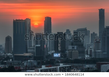 Bangkok suburb Stock photo © joyr
