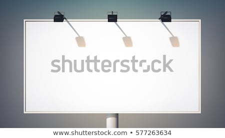 Открытый Spotlight прожектор улице стадион Футбол Сток-фото © smuay