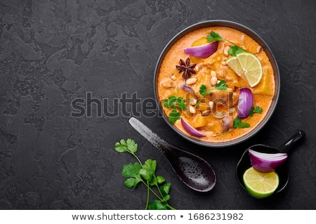 Thai red onions Stock photo © smuay