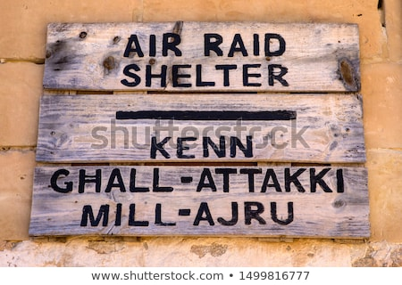 English air-raid shelter Stock photo © andrewroland