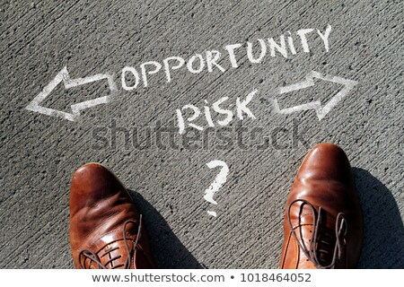 риск · решения · изменений · бизнеса · Идея · бизнесмен - Сток-фото © lightsource