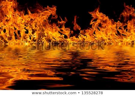 tűz · lángok · füst · biztonság · robbanás · láng - stock fotó © nejron