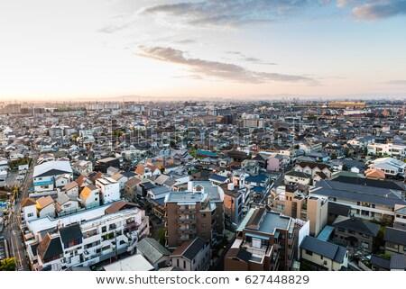 Osaka · cidade · centro · da · cidade · denso · linha · do · horizonte · distrito - foto stock © tito
