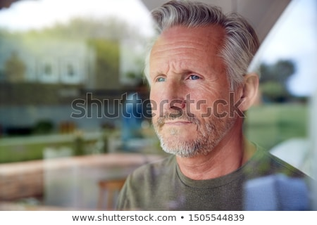 Contemplative man Stock photo © disorderly