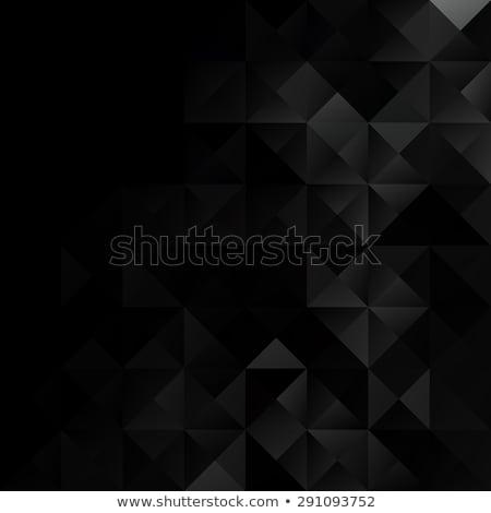 Soyut geometrik siyah elmas vektör doku Stok fotoğraf © MPFphotography