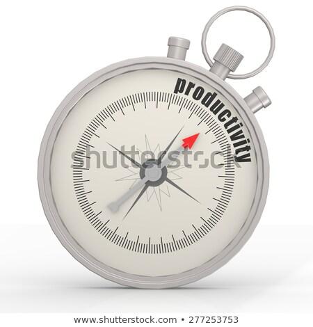 produtividade · industrial · negócio · produtivo · produção - foto stock © tashatuvango