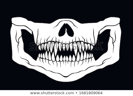 Skull Mask Stock photo © 13UG13th