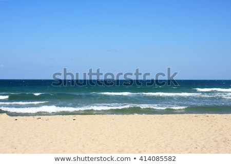 Belo vazio areia praia romântico destino Foto stock © jarin13