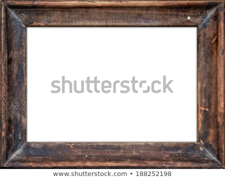 old wooden frame stock photo © caimacanul