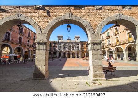 Prefeitura cidade governo Espanha edifício paredes Foto stock © billperry