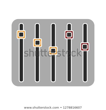 resumen · gráfico · ecualizador · negro · danza · tecnología - foto stock © netkov1