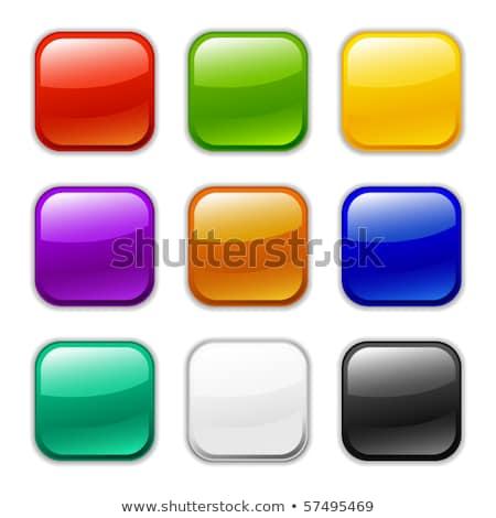 Stok fotoğraf: Sarı · vektör · ikon · düğme · dizayn · dijital